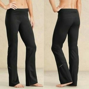 Athleta Runabout Flare Workout Yoga Pants S Tall